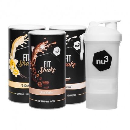 nu3 Fit Shake, Pack de dégustation avec SmartShake