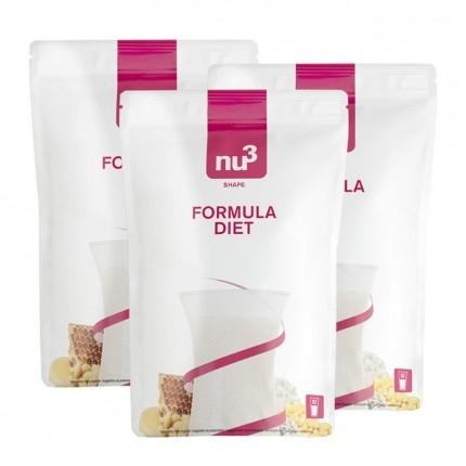 3 x nu3 Formula Diet -jauhe