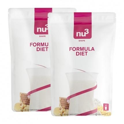 nu3, Formula Diet, poudre, lot de 2