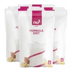 nu3, Formula Diet, poudre, lot de 6