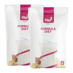 2 x nu3 Formula Diet, powder