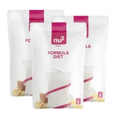 3 x nu3 Formula Diet, powder