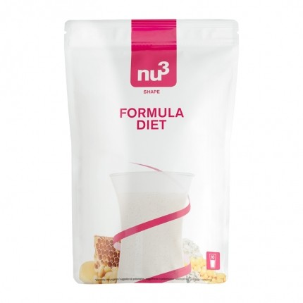 nu3 Low-Carb-Diæt Pakke: nu3 Formula Diet + 3 x Low Carb Rice