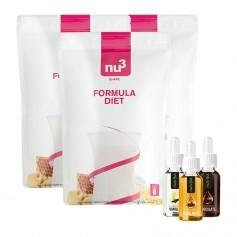 nu3 Formula Diet Schoko-Vanille-Nuss Mix