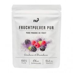 nu3 Bio Fruchtpulver Pur, Himbeere & Brombeere