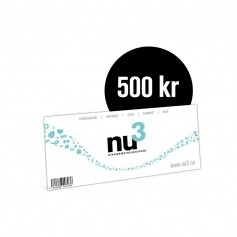 nu3 Gavekort 500kr