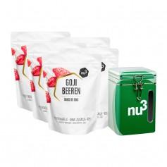 nu3 naturals gojibär + Nature Box förvaringslåda