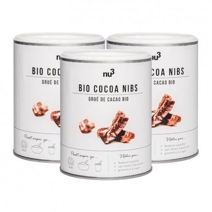 nu3 Fèves de Cacao Bio