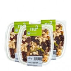 3x nu3 Heroes Food - Organic Fruit & Nut Mix