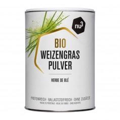 nu3 Bio Weizengras, Pulver
