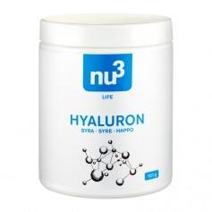 nu3 Hyaluronsyra, Kapslar