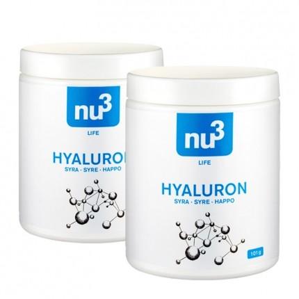 nu3 Hyaluronsyre-kapsler