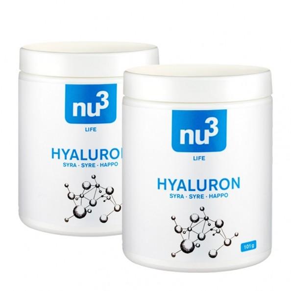 2 x nu3 Hyaluronsyre, Kapsler - bestil dem i dag hos nu3!