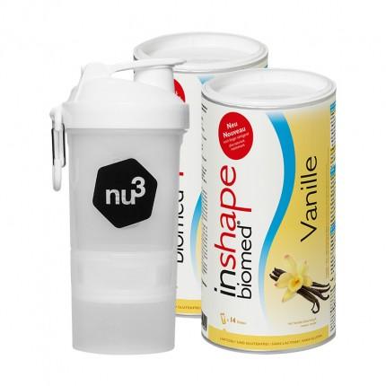 InShape-Biomed nu3 Sarterpaket mit original SmartShake