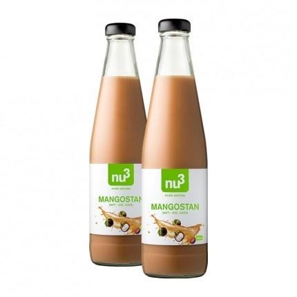 nu3, Jus de mangoustan bio lot de deux