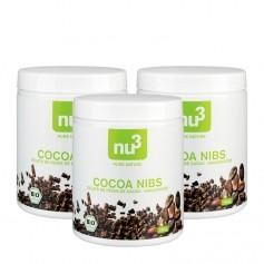 3 x nu3 Bio Cacao Nibs