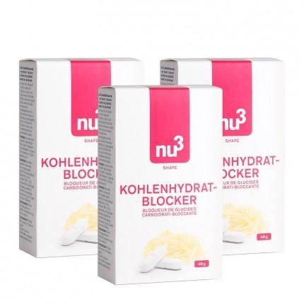 3 x nu3 Kohlenhydratblocker, Tabletten