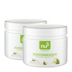 2 x nu3 Kokosvand, øko-pulver