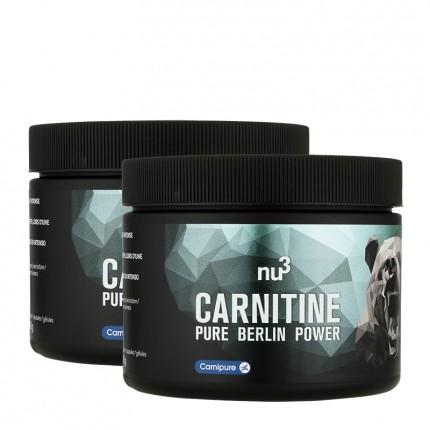 2 x nu3 L-Carnitin, kapsler