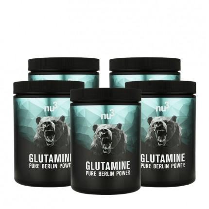 5 x nu3 L-Glutamine, Pulver