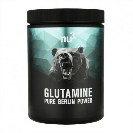 3 x nu3 L-Glutamine, pulver