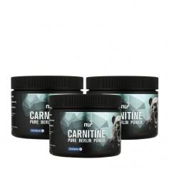 3 x nu3 L-Karnitiini -kapselit