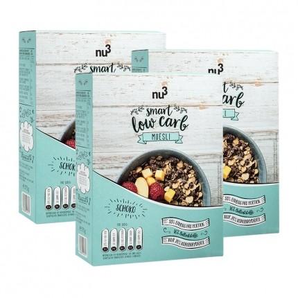 nu3 Lower Carb Müsli, Chocolate-Crunch