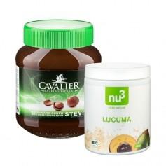 Sötsaker utan socker: Lucuma + Hazelnut stevia pålägg