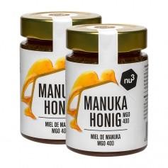 2 x nu3 Manuka-honning 320+