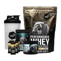 nu3 Mass Gain Workout Stack