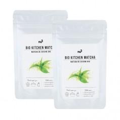 2 x nu3 økologisk matcha bakepulver, pulver
