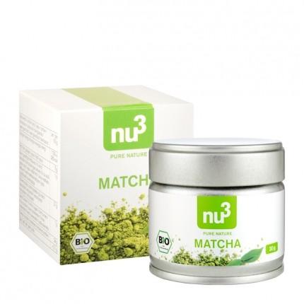 nu3 Matcha -teesetti Matcha -teejauheella, luomu
