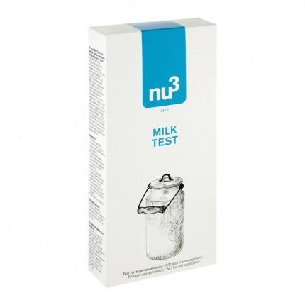 nu3 Milk Test, Testset