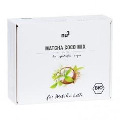 nu3 Bio Matcha Coco Mix, Pulver