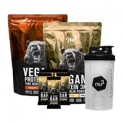 nu3 Vegan Mass Gain Pack