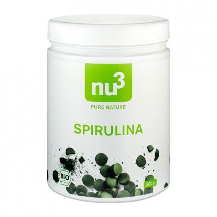 nu3 Bio Spirulina, Tabletten