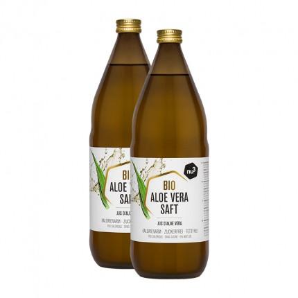 2 x nu3 Økologisk aloe vera-juice