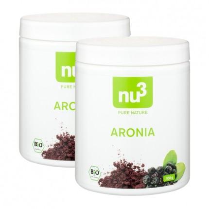 2 x nu3 Økologisk aroniapulver