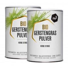 2 x nu3 Økologisk Byggræs, pulver