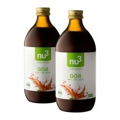 2 x nu3 Økologisk goji-juice