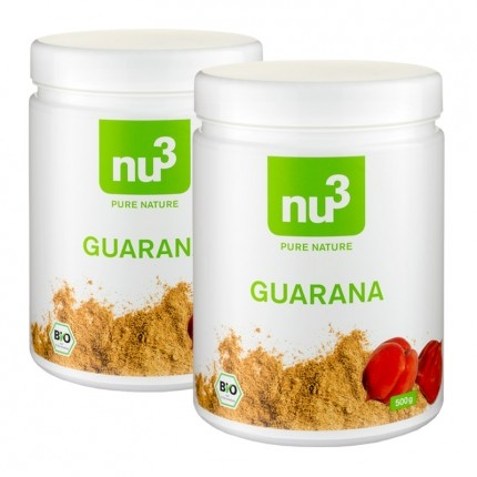 2 x nu3 Økologisk Guarana Pulver