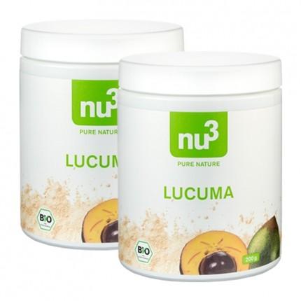 2 x nu3 økologisk Lucuma, pulver