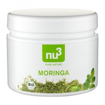 nu3 Hele Chia Frø + nu3 Aronia Bær + nu3 Moringa Pulver, Økologisk