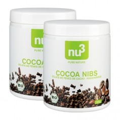 2 x nu3 økologiske Cacao Nibs