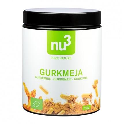 nu3 Økologiske gurkemeie-kapsler