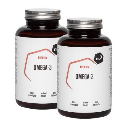2 x nu3 Omega-3, capsules