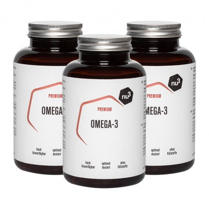 3 x nu3 Omega-3, Kapsler