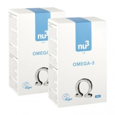 2 x nu3 Omega-3 - vegan capsules
