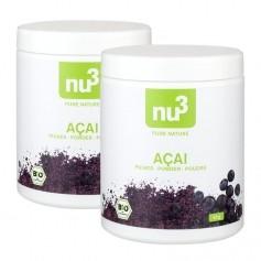 2 x nu3 Organic Acai Powder