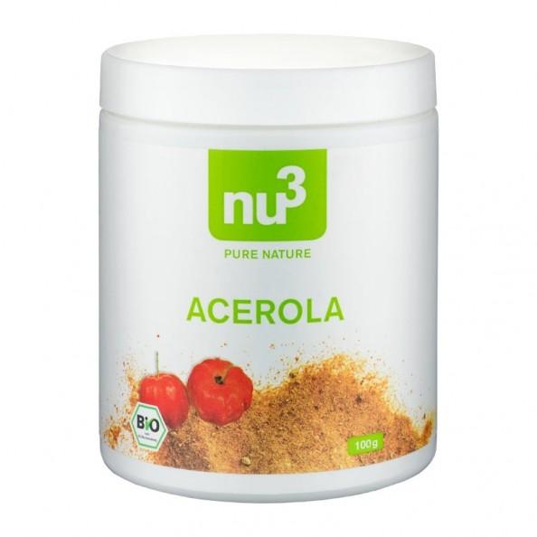 Nu3 Organic Acerola Powder Nu3
